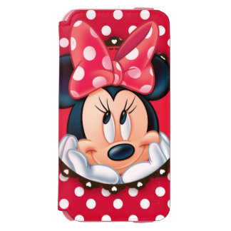 Minnie Mouse | Smiling on Polka Dots iPhone 6/6s Wallet Case