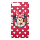 Minnie Mouse | Smiling on Polka Dots iPhone 8 Plus/7 Plus Case