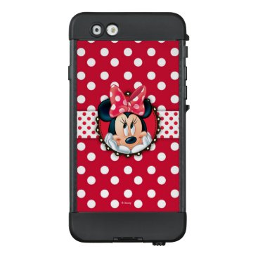 Disney Themed Minnie Mouse | Smiling on Polka Dots LifeProof NÜÜD iPhone 6 Case