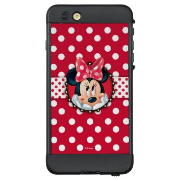 Disney Themed Minnie Mouse | Smiling on Polka Dots LifeProof NÜÜD iPhone 6 Plus Case