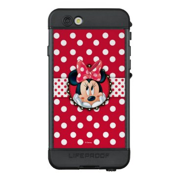 Disney Themed Minnie Mouse | Smiling on Polka Dots LifeProof NÜÜD iPhone 6s Case