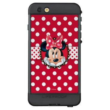 Disney Themed Minnie Mouse | Smiling on Polka Dots LifeProof NÜÜD iPhone 6s Plus Case