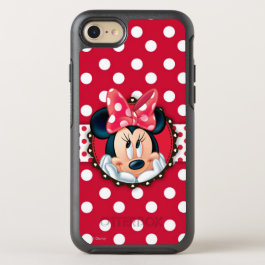 Minnie Mouse | Smiling on Polka Dots OtterBox Symmetry iPhone 7 Case