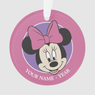 Minnie Mouse Smiling Ornament