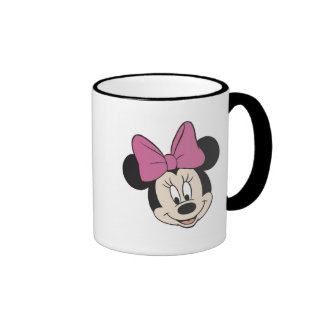 Minnie Mouse Smiling Ringer Coffee Mug