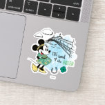 Minnie Mouse | St. Patrick's Day - Land of the Gre Sticker