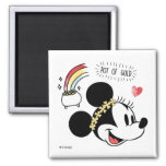 Minnie Mouse | St. Patrick's Day - Pot of Gold Magnet