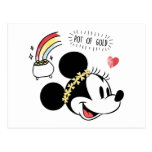 Minnie Mouse | St. Patrick's Day - Pot of Gold Postcard