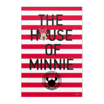 Minnie Mouse | The House of Minnie Acrylic Wall Art