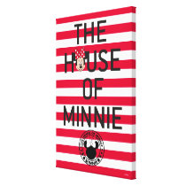 Minnie Mouse | The House of Minnie Canvas Print