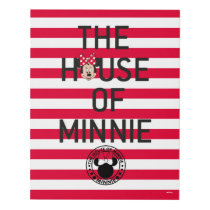 Minnie Mouse | The House of Minnie Panel Wall Art