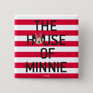 Minnie Mouse | The House of Minnie Pinback Button