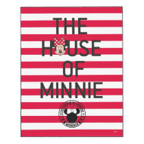 Minnie Mouse | The House of Minnie Wood Print