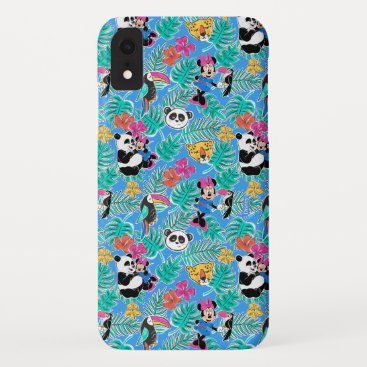 Minnie Mouse | Tropical Summer Pattern iPhone XR Case
