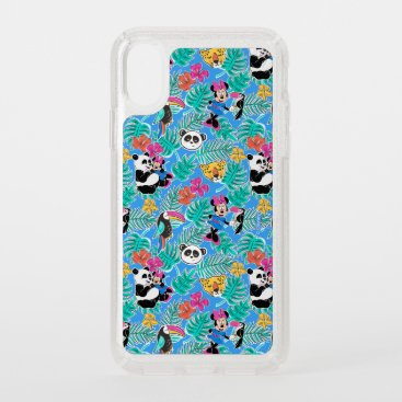 Minnie Mouse | Tropical Summer Pattern Speck iPhone XS Case