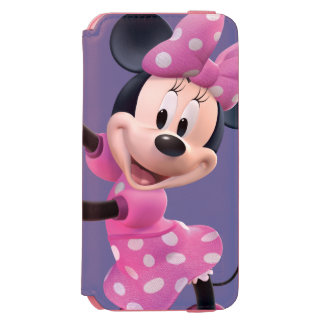 Minnie Mouse Up Hands Incipio Watson™ iPhone 6 Wallet Case
