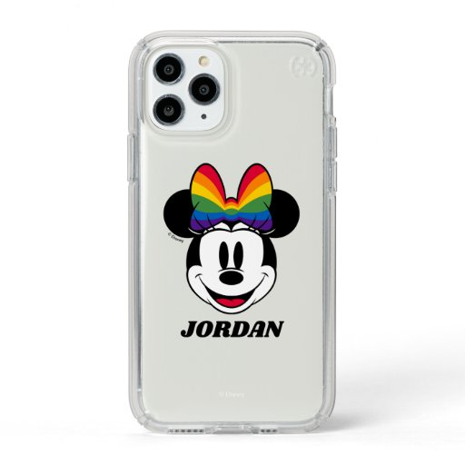 Minnie Mouse Wearing Rainbow Bow Speck iPhone 11 Pro Case