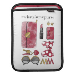 Minnie Mouse | #what'sinmypurse Sleeve For iPads