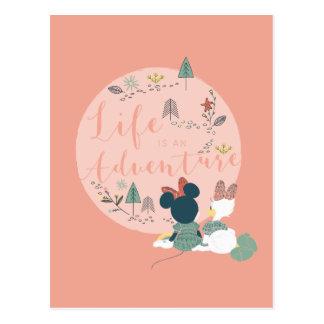 Minnie Mouse y la vida del pato el | de la Tarjetas Postales