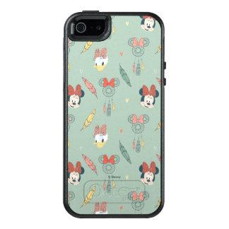 Minnie Mouse y modelo ideal del colector del pato Funda Otterbox Para iPhone 5/5s/SE