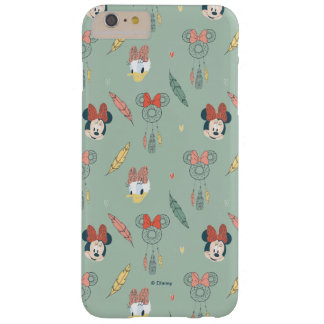Minnie Mouse y modelo ideal del colector del pato Funda Para iPhone 6 Plus Barely There