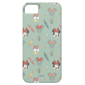 Minnie Mouse y modelo ideal del colector del pato iPhone 5 Carcasa