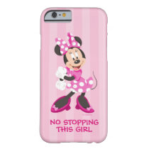 Minnie | No Stopping this Girl Barely There iPhone 6 Case