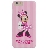 Minnie | No Stopping this Girl Barely There iPhone 6 Plus Case