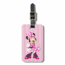 Minnie | No Stopping this Girl Luggage Tag