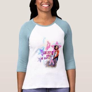 Minnie Pink Ribbon Tee Shirts