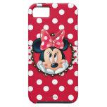 Minnie Polka Dot Frame iPhone 5 Covers