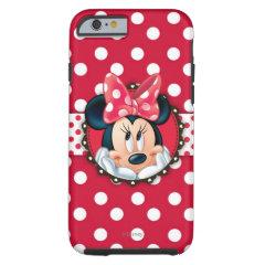 Minnie Polka Dot Frame iPhone 6 Case