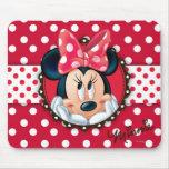 Minnie Polka Dot Frame Mouse Pad