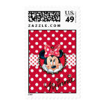 Minnie Polka Dot Frame Stamps