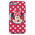 Minnie Polka Dot Frame Tough iPhone 6 Case