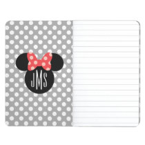 Minnie Polka Dot Head Silhouette | Monogram Journal