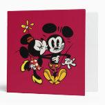 Minnie que besa a Mickey