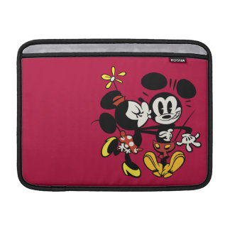 Minnie que besa a Mickey Funda Macbook Air
