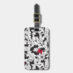 Minnie Red Bow Pattern Luggage Tag