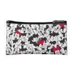 Minnie Red Bow Pattern Makeup Bags