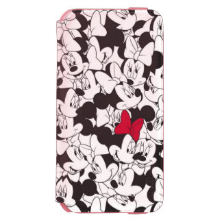 Minnie Red Bow Pern Incipio Watson™ iPhone 6 Wallet Case