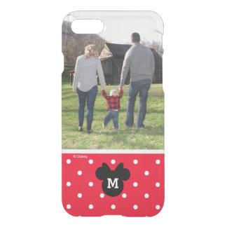 Minnie Red Polka Dot | Custom Photo & Monogram iPhone 7 Case