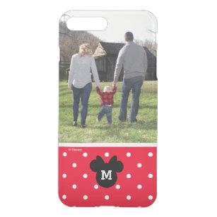 Minnie Red Polka Dot   Custom Photo & Monogram iPhone 8 Plus/7 Plus Case