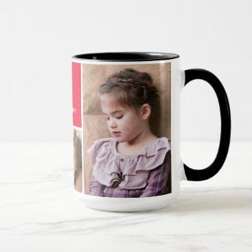 Disney Themed Minnie Red Polka Dot | Custom Photos & Monogram Mug