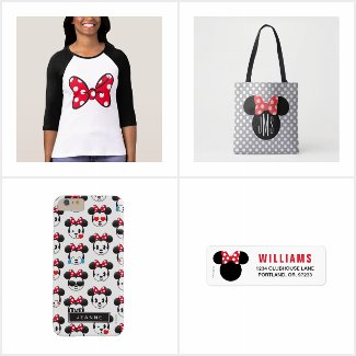 Minnie #ROCKtheDOTS Collection