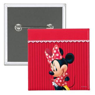 Minnie rojo 4 pin cuadrado