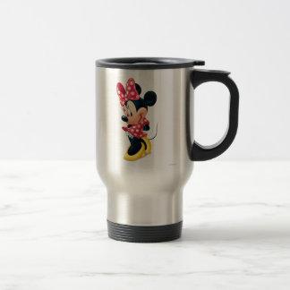 Minnie rojo 4 taza de viaje