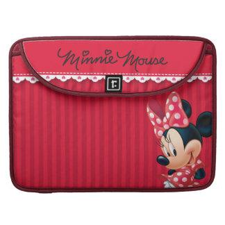 Minnie rojo el   lindo funda para macbooks