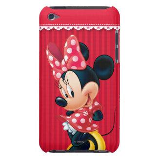 Minnie rojo el   tímido Case-Mate iPod touch carcasas
