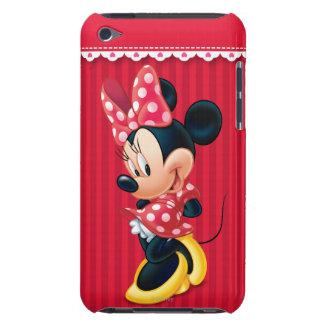 Minnie rojo el   tímido iPod touch Case-Mate protector
